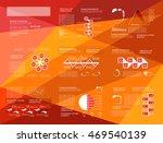 set of business data... | Shutterstock .eps vector #469540139