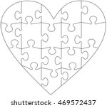 heart puzzle free vector art 3818 free downloads