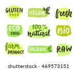 bio natural food concept. set... | Shutterstock .eps vector #469573151