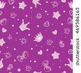 princess pattern. background...   Shutterstock .eps vector #469586165