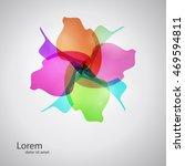 abstract spa health beauty logo ... | Shutterstock .eps vector #469594811
