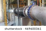 vertical pipe installation on...   Shutterstock . vector #469600361