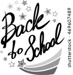 back to school. hand drawn... | Shutterstock .eps vector #469607489