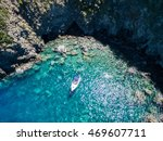 Ischia  Lonely Boat In A...