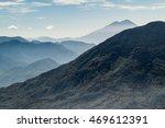 mountains and volcanoes... | Shutterstock . vector #469612391