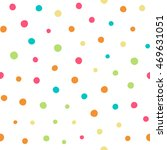 seamless pattern with dots of... | Shutterstock .eps vector #469631051