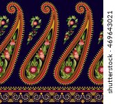 striped seamless pattern.... | Shutterstock .eps vector #469643021