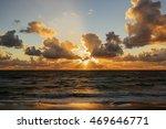 sunset. beautiful sunset ... | Shutterstock . vector #469646771