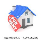 miniature model of house real... | Shutterstock . vector #469665785