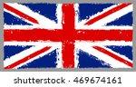 grunge union jack | Shutterstock .eps vector #469674161