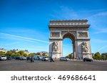 paris  france   september 29th... | Shutterstock . vector #469686641