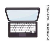 laptop screen technology top... | Shutterstock .eps vector #469699571