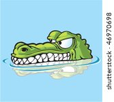 Alligator Or Crocodile Sneakin...
