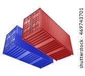 3d rendering the ship a... | Shutterstock . vector #469743701