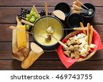 traditional set of utensils for ... | Shutterstock . vector #469743755