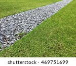 Gray Gravel Walking Path In A...