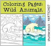 coloring pages  wild animals.... | Shutterstock .eps vector #469752407