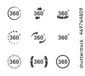 angle 360 degrees icons set in... | Shutterstock .eps vector #469764809