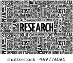 research word cloud collage ... | Shutterstock .eps vector #469776065