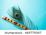 Peacock Feather And Bamboo...