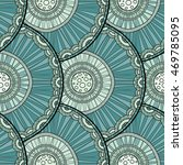 seamless tribal abstract... | Shutterstock .eps vector #469785095