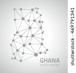 ghana vector contour triangle... | Shutterstock .eps vector #469791341