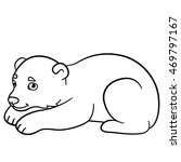 coloring pages. little cute... | Shutterstock .eps vector #469797167