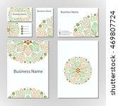 modern flat design business... | Shutterstock .eps vector #469807724