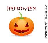 halloween pumpkin jack o lantern | Shutterstock .eps vector #469808969