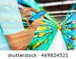digital revolution in retail... | Shutterstock . vector #469824521