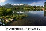 Strbske Pleso Is Nice Lake In...