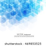 vector abstract geometric... | Shutterstock .eps vector #469853525