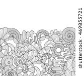 abstract zentangle style... | Shutterstock .eps vector #469855721