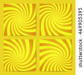 set of swirling radial... | Shutterstock .eps vector #469905395