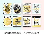 collection cards design.... | Shutterstock .eps vector #469908575