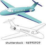 air transports | Shutterstock . vector #46990939