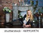 model in studio | Shutterstock . vector #469914974
