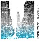 scene street illustration. hand ...   Shutterstock .eps vector #469941911