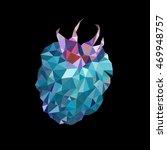 raspberry | Shutterstock .eps vector #469948757