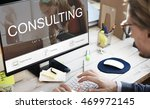 consulting advisory assistance... | Shutterstock . vector #469972145