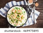 seafood   shrimp and squid ...   Shutterstock . vector #469975895