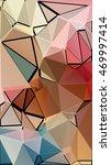 randomly scattered triangles of ... | Shutterstock . vector #469997414
