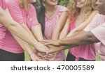 join hands cancer campaign care ... | Shutterstock . vector #470005589