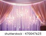 magnificent crystal chandeliers ... | Shutterstock . vector #470047625