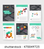 business brochure design... | Shutterstock .eps vector #470049725