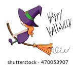halloween cartoon character. a... | Shutterstock . vector #470053907