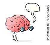 freehand drawn speech bubble... | Shutterstock . vector #470073299