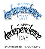 happy independence day greeting....   Shutterstock .eps vector #470075249