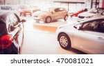view of row new car at new car... | Shutterstock . vector #470081021