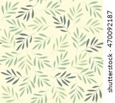 seamless pattern with green... | Shutterstock .eps vector #470092187